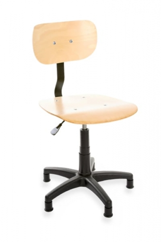 Krzesło do maszyn szwalniczych sklejka Ergo 02